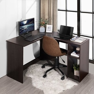 Andover Mills Garlington L-Shape Executive Desk