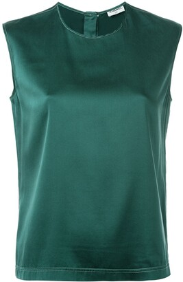 Chanel Pre Owned Classic Sleeveless Top