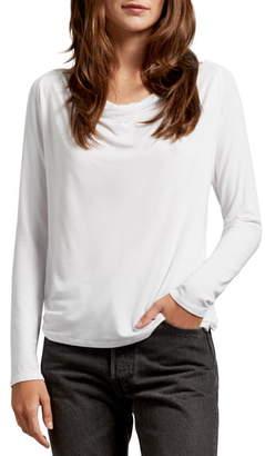 Michael Stars Ellen Luxe Jersey V-Neck Tee