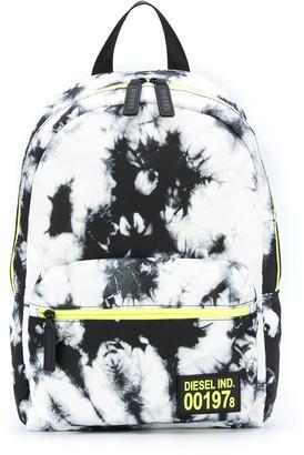 Diesel Tie-Dye Logo Backpack