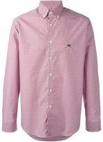 Etro checked button-down shirt