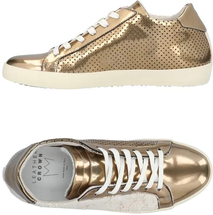 Leather Crown Low-tops & sneakers - Item 11436674