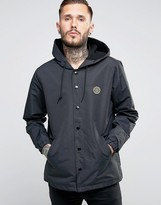 Obey Coach Jacket With Hood
