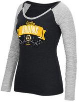 Reebok Women's Long-Sleeve Boston Bruins Approval T-Shirt