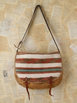 Free People Vintage Woven Mailbag