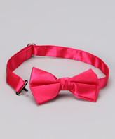 American Exchange Boys' Bow Ties - American Exchange Fuchsia Bow Tie