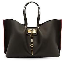 Valentino Women's Garavani Large VLogo Escape Leather Tote