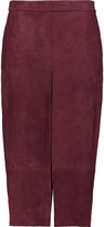 Raoul Tribeca suede culottes