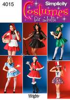 Simplicity Sewing Pattern 4015 Misses' Costumes