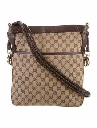 Gucci GG Canvas Bucket Bag Beige
