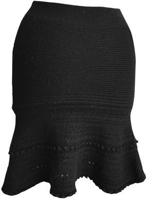 Vanessa Bruno Black Wool Skirts