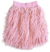 London Rock Kids Pink Shag Skirt