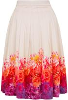 Wolfwhistle Wolf & Whistle Ombre Floral Skirt