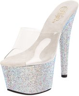 Pleaser USA Women's Bejeweled-701DM/C/SMCRS Platform Sandal
