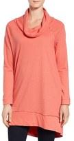 Caslon Cowl Neck Tunic Sweatshirt (Regular & Petite)