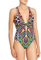 Trina Turk Printed One-Piece Swimsuit