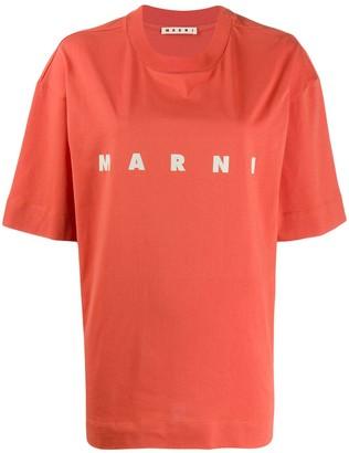Marni print jersey T-shirt