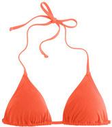 J.Crew String bikini top in Italian matte