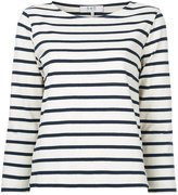 Sea nautical striped top - women - Cotton - XS