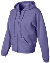 Comfort Colors Ladies' Pigment Dyed Full-Zip Hooded Sweatshirt - C1598 XL