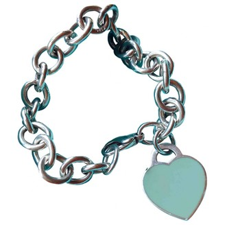 Tiffany & Co. & Co Return to Blue Silver Bracelets