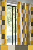Next Colourblock Studio* Eyelet Curtains - Orange