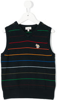 Paul Smith striped knitted vest