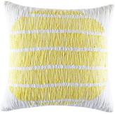 Kas Orbit Citrus Square Cushion Cover