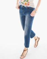 Chico's Straight-Leg Crop Jeans
