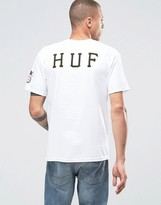 Huf Classic H T-shirt With Back Print