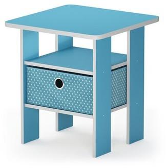 Wrought StudioTM Kenton Petite End Table with Storage Wrought Studio Color: Dark Walnut