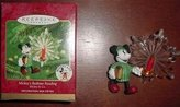Hallmark 2000 Mickey's Bedtime Reading Disney Keepsake Ornament