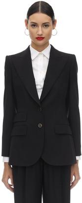 Dolce & Gabbana Virgin Wool Blend Natte Blazer