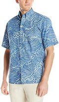 Reyn Spooner Men's Molokai Channel Short-Sleeve Shirt