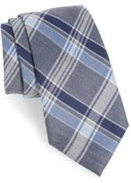 Nordstrom Shadow Plaid Wool & Silk Tie