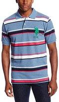 U.S. Polo Assn. Men's Short-Sleeve Cotton Pique Polo Shirt