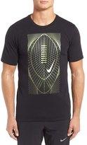 Nike Metallic Football Graphic Dri-FIT T-Shirt