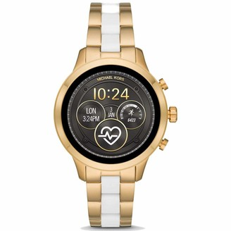 Michael Kors Womens Digital Watch with Stainless Steel Strap MKT5057