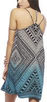 Wet Seal Dip Tie Dye Tribal Slip Dress
