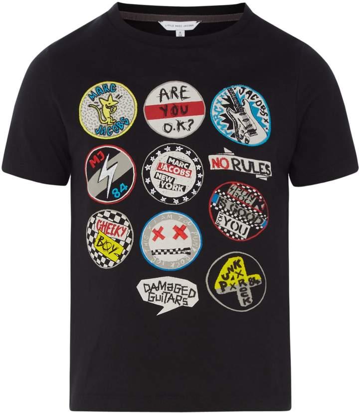 Little Marc Jacobs Boys Short Sleeves T-Shirt