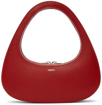Coperni Red Baguette Swipe Bag