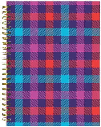 TFPublishing 2021 Plaid About You Medium Weekly Monthly Planner