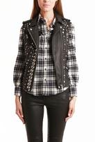 IRO Alaina Leather Studded Vest