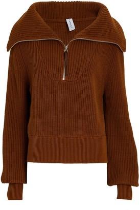 Varley Mentone Half-Zip Cotton Sweater