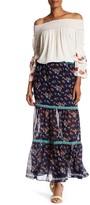 Max Studio Tiered Maxi Skirt