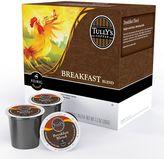 Keurig k-cup ® portion pack tully's coffee breakfast blend light roast coffee - 18-pk.