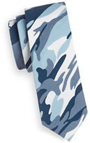 Haight And Ashbury Slim Camouflage Cotton Tie