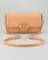 Tory Burch Amanda Mini Crossbody Bag, Aged Vachetta