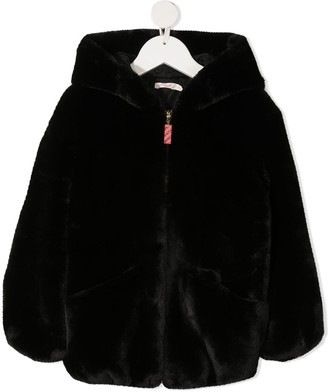 Billieblush Short Faux-Fur Coat