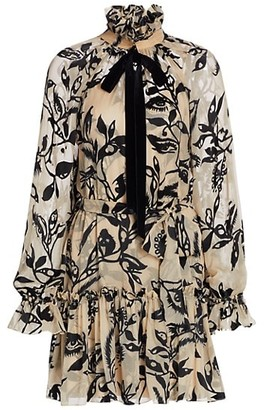 Zimmermann Ladybeetle Ruffled Mini Dress